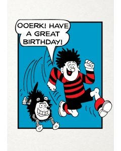 Beano 'Ooerk Have A Great Birthday' Card
