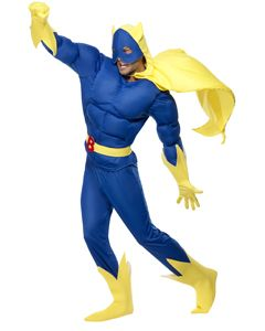 Beano Adult Bananaman Padded Costume