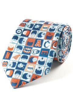 Beano Classic Squares Silk Tie