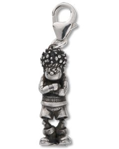 Beano Classic Standing Dennis Silver Charm
