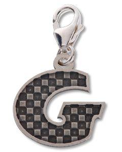 Beano Comic Book Letter 'G' Silver Charm