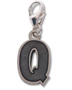 Beano Comic Book Letter 'Q' Silver Charm