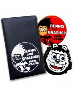 Beano Dennis and Gnasher Fan Club Pack