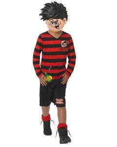 Beano Kids Dennis The Menace Costume