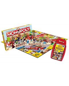 Beano - Beano Monopoly & Top Trumps Games Duo