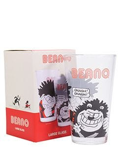 Beano Dennis & Gnasher Large Glass