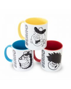 Big Heads Mug Set