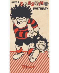 Beano - Beano 'Have A Smashing Birthday' Card