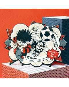 Dennis Football Beano Surprise Card