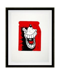 Gnasher Grins Print