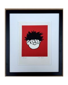 Beano Dennis the Menace Face Print