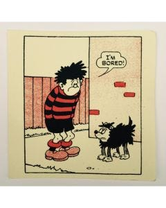 Dennis the Menace is Bored Greeting Card