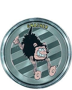 Gnasher Silver-Plated Collectable Medal
