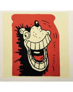 Gnasher Grins Greeting Card