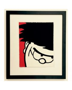Beano Dennis Grins Print