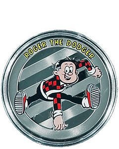 Beano Roger the Dodger Silver-Plated Collectable Medal