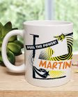 Personalised Bananaman 40th Mug
