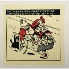Bash Street Kids So Tired Greeting Card