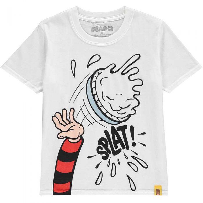 929b1656 Custard Pie UV Kids T-Shirt   The Official Beano Shop