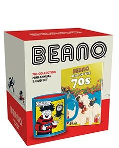 Beano 70s Mini Annual & Mug Set - Small