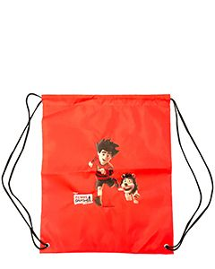 Beano Dennis & Gnasher Unleashed Drawstring Bag