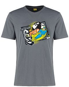Adult Bananaman 40th Grey T-shirt