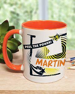Personalised Bananaman 40th Mug