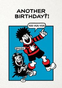 Beano 'Another Birthday?' Card
