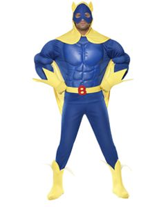 Beano Adult Bananaman Deluxe EVA Chest Costume
