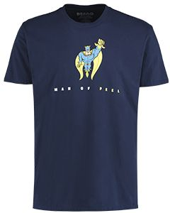 Adult Bananaman Man Of Peel T-Shirt