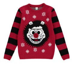 Beano Kids Gnasher Christmas Jumper