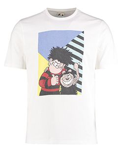 Adult Beano Originals Colour Block T-Shirt