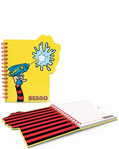 Water Pistol Beano Notebook