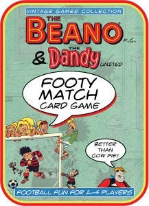 Beano & The Dandy Footy Match Card Game