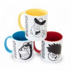 Big Heads Mug Set