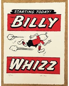 Beano - Billy Whizz Starting Today! Print - Thumbnail
