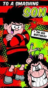 Beano - Beano 'To A Smashing Son' Birthday Card