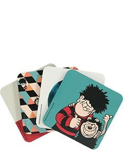 Beano Retro Coasters – set of 4 - Thumbnail image