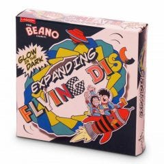 Beano Glow-In-The-Dark Expanding Flying Disc