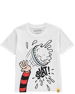 Beano Custard Pie UV Kids T-Shirt - Thumbnail