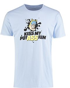 Adult Bananaman Kiss My Potassium T-Shirt