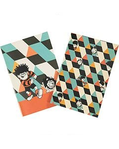 Beano Retro Notebook – set of 2 - Thumbnail Image