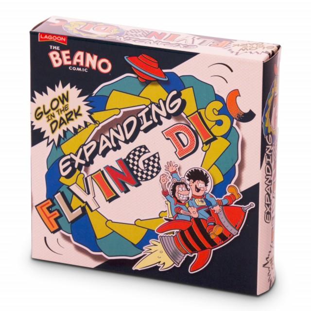 Beano Glow-In-The-Dark Expanding Flying Disc