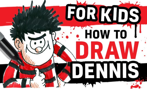 How to Draw Dennis